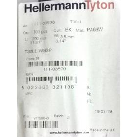 Opaski zaciskowe HellermannTyton 111-03570 100szt